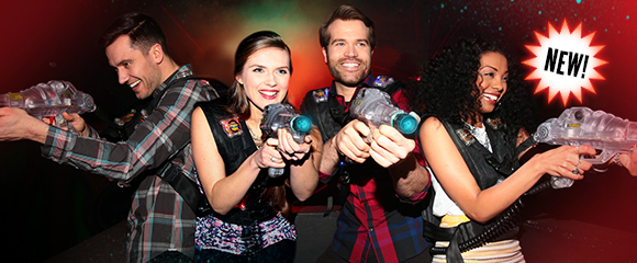 people playing laser tag - burst: new!