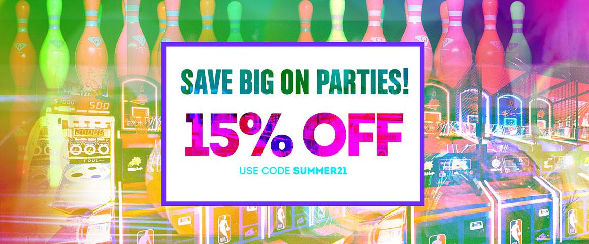 Summer Sales 15% off banner