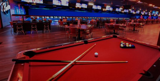 view of billiard table and concourse seating