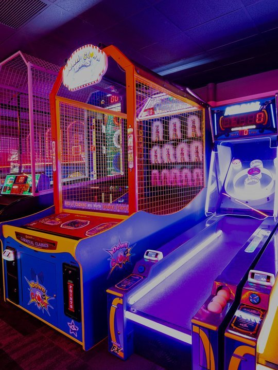 view of arcade games