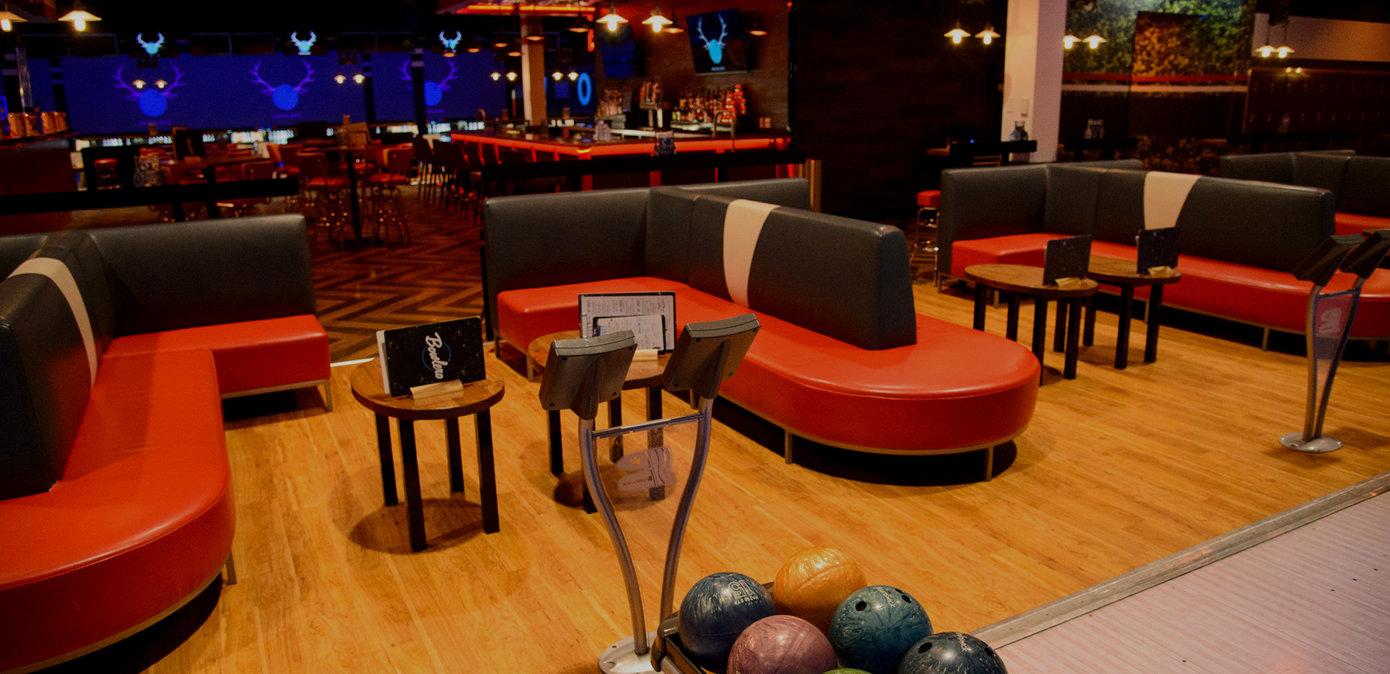 Laneside Lounge Seating Areas