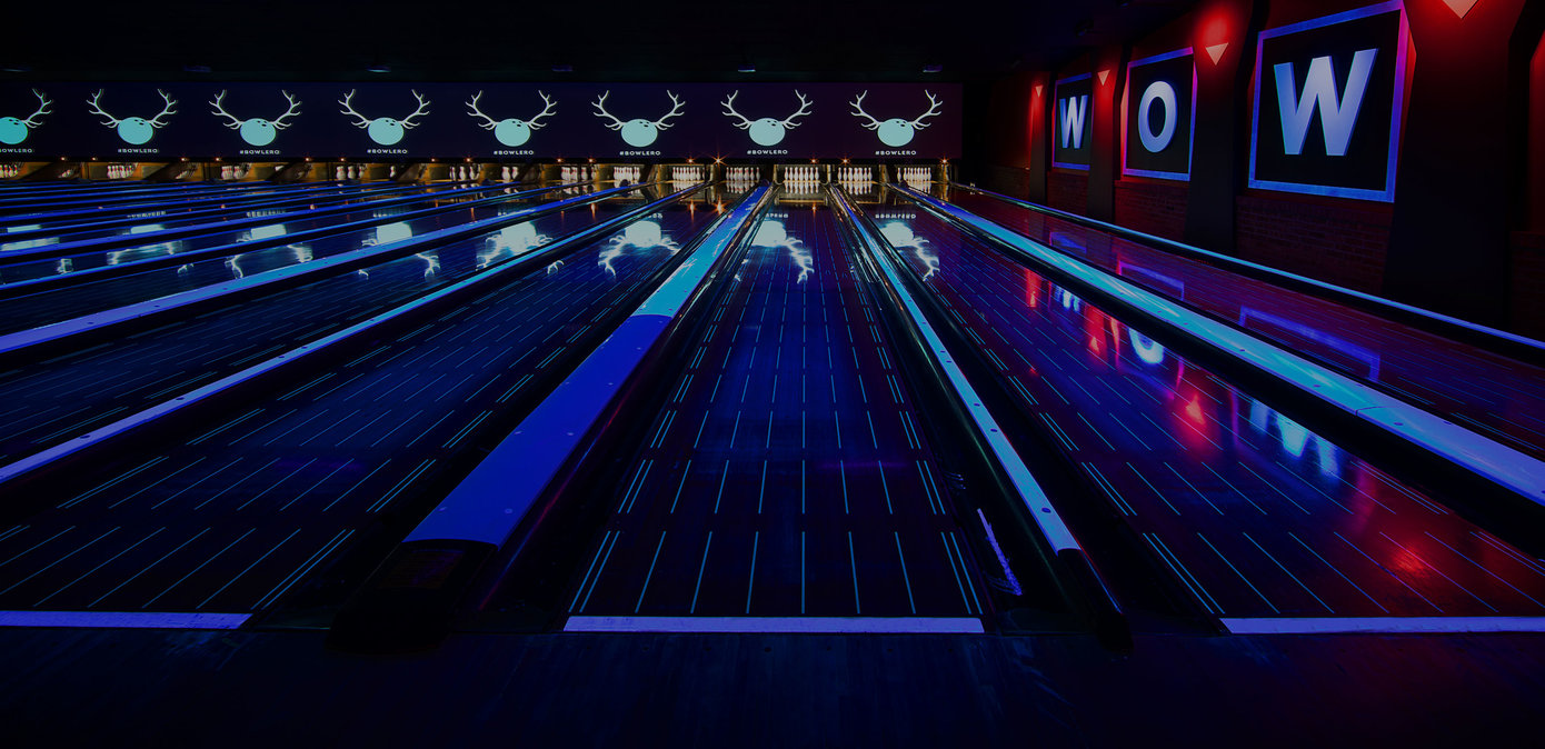 Blacklight lanes at Bowlero Wauwatosa