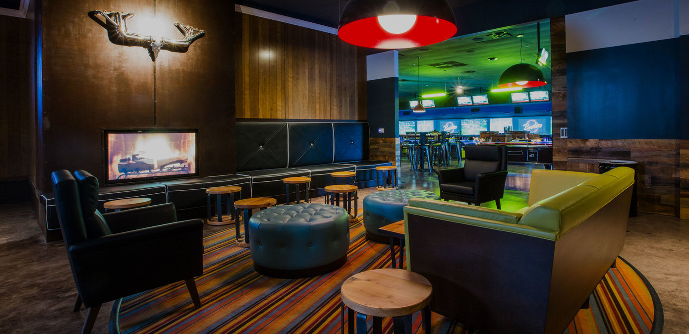 Bowling Alley U0026 Lounge Area In The Woodlands, TX   Bowlero