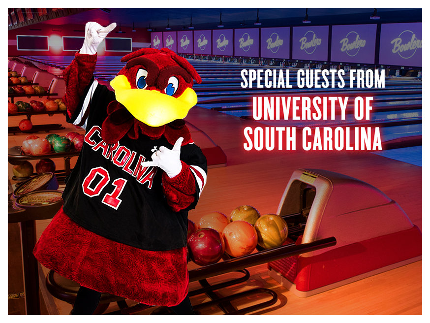 text: special guests from the university of south carolina