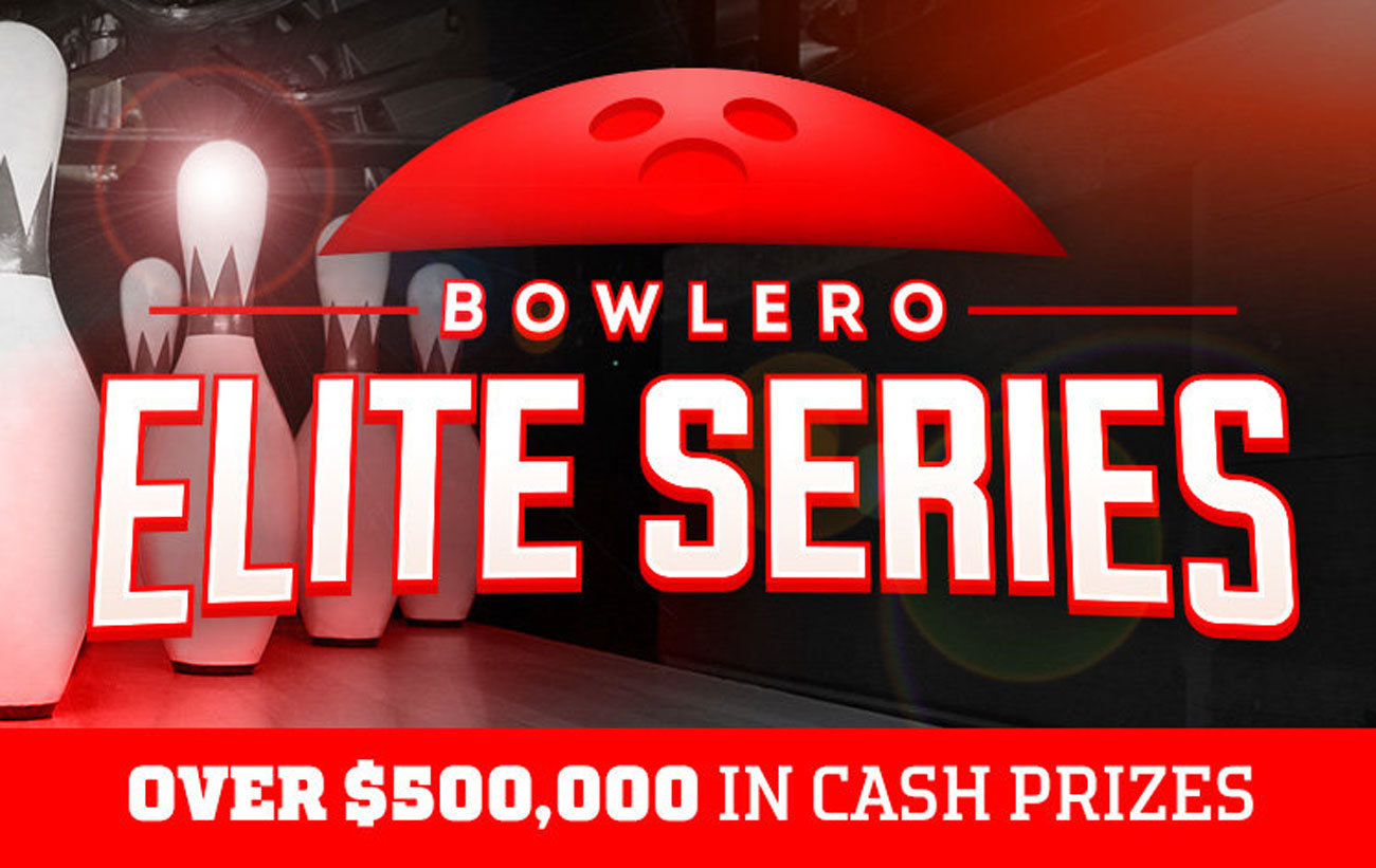Bowlero Elite Series. Over $500,000 in cash prizes.