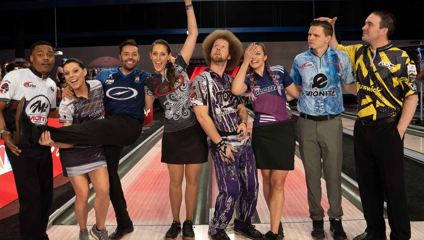 BES Pro Bowlers Being Silly